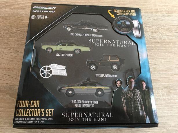 Greenlight 1:64 Supernatural Set Chevrolet Ford Jeep Siku Hotwheels