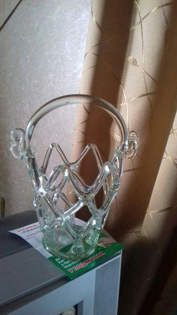 Скляна ваза - ручна робота часів срср