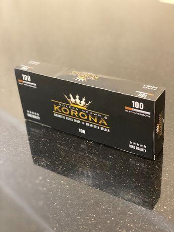 KORONA 100 Гильзы для сигарет, гильзы для табака, сигаретные гильзы