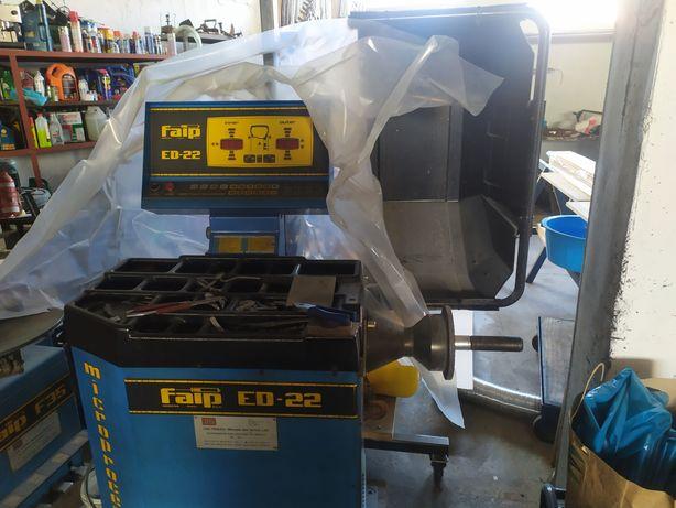Material oficina - máquina calibrar pneus