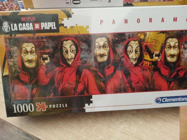 Puzzle Clementoni 1000 Peças -  La Casa de Papel - NOVO