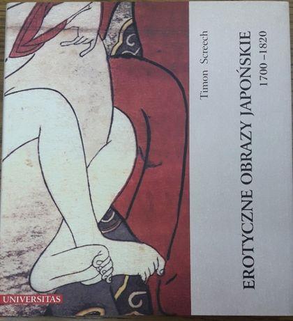 """""""Erotyczne Obrazy Japońskie"""" album historyczny Timon Screech"""