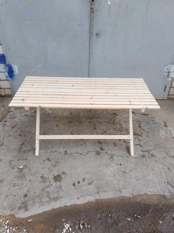 Продаю хороший деревянный раскладной стол, для торговли и отдыха