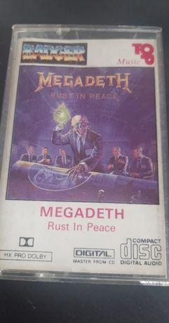 Megadeth – Rust In Peace, 1991 , KASETA MAGNETOFONOWA