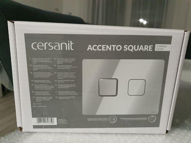 Cersanit Accento Square przycik pneumatyczny