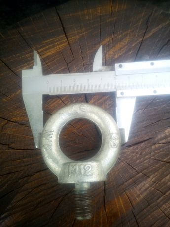 Болт с кольцом М12