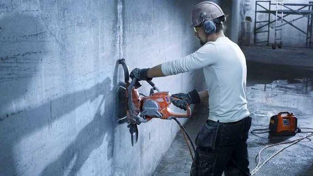 Алмазная резка бетона, штроб, проёмов, арок и тд.