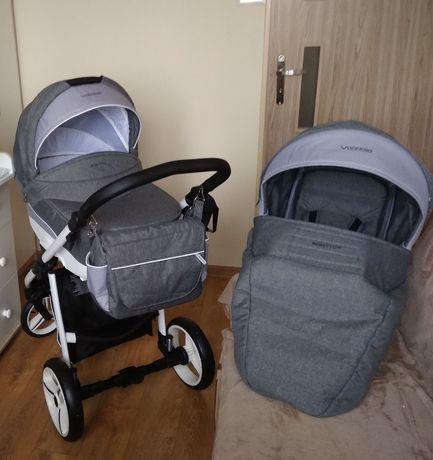 Wózek dziecięcy Bebetto Vulcano 2w1 gondola + spacerówka gwarancja