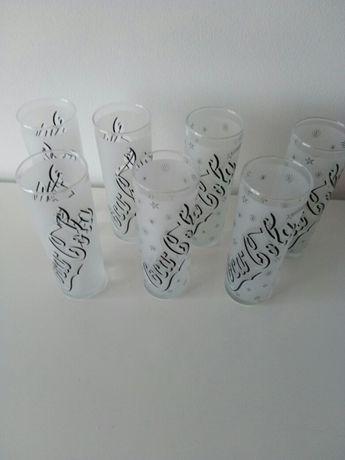 Copos de coca-cola (7 copos)