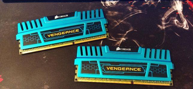 RAM Corsair Vengeance 2x4 GB DDR3 1600 MHz (CMZ8GX3M2A1600C9B).