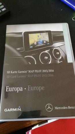 Mapa GPS Garmin SD Mercedes