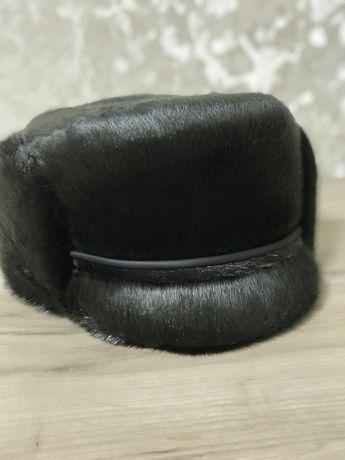 Солидная кепка из нерпы для представительного мужчины