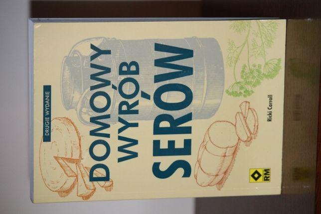 Domowy wyrób serów - idealna książka dla domowych serowarów.