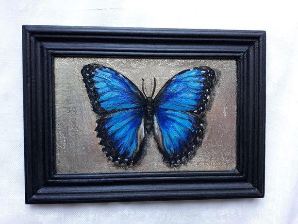 """Картина маслом """"Бабочка"""""""