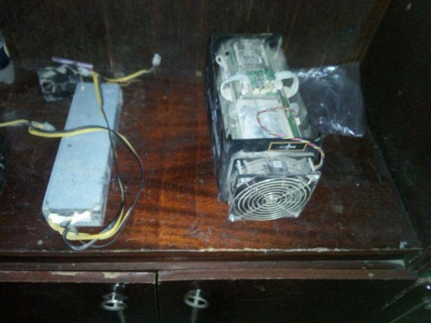 антмайнер с5 АСИК Antminer S5 + блок питание 850 wat