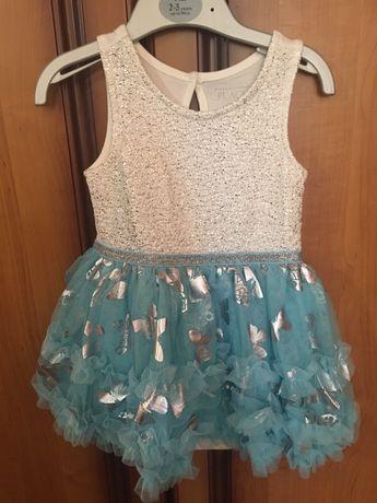 Платье для маленькой принцессы на годик