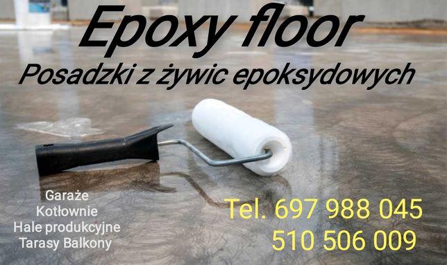 Podłoga zywiczna/posadzki epoksydowe
