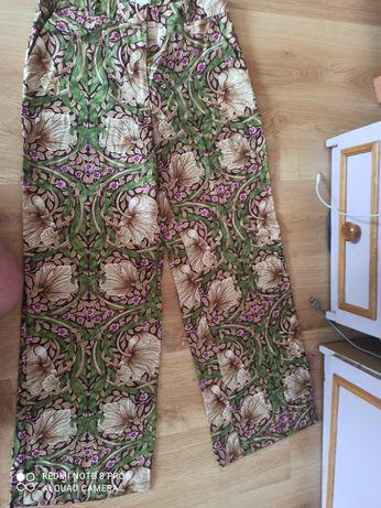 Kuloty spodnie szerokie  L 40 H&M wiskoza