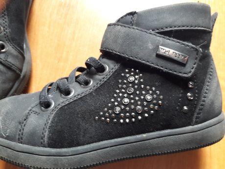 buty  czarne  z cekinami 29
