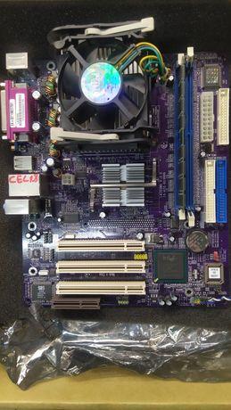 ECS Elitegroup L4IGVM6 v 3.0 1GB DDR ram S478 Intel Celeron  1,8 GHz
