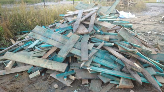Drewno z budowy oddam za darmo