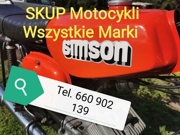 Skup Motocykli Motorów s51 Simson mz etz wfm shl jawa motorynka quadow