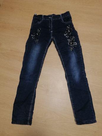 Очень тёплые джинсы на девочку