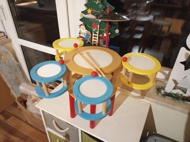 Zabawka - perkusja dla dzieci Small Foot JAK NOWA