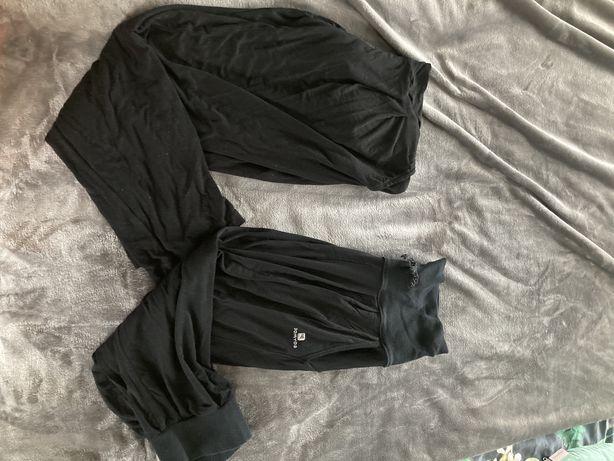 Spodnie ciazowe haremki i 3/4 dwie pary m 38 36