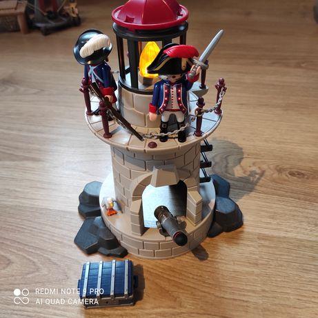 Wieża wojskowa z oświetleniem Playmobil