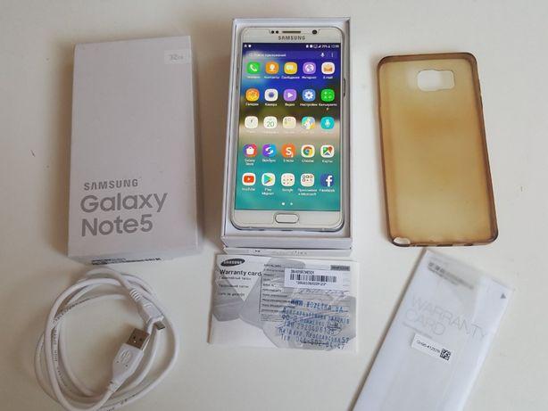 4G Флагман Samsung note 5 N920C 32gb RAM 4GB Duos S-Pen+документы!