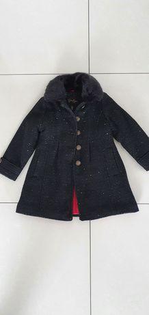 Płaszcz dziewczęcy