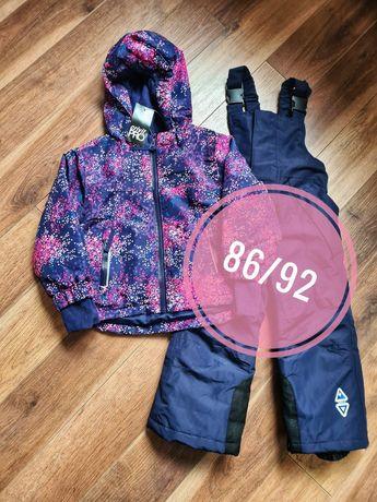 Зимний лыжный термо костюм комбинезон раздельный Crivit  Lupilu 86/92