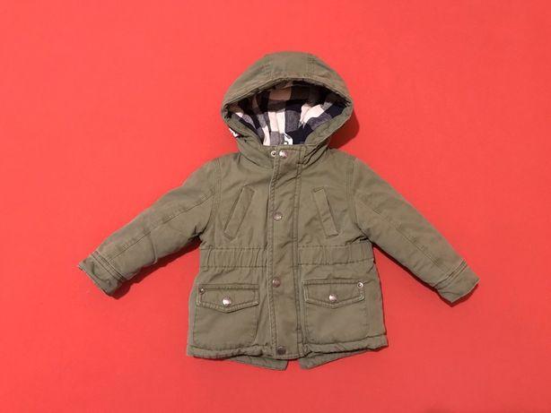 Куртка - Парка Детская с теплой подкладкой