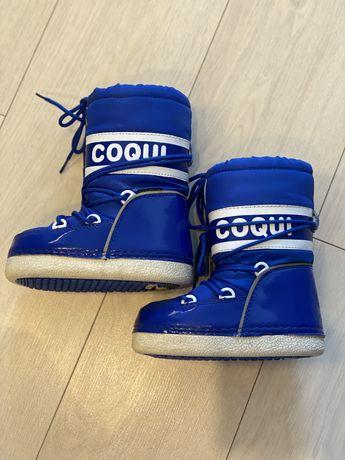 Сноубутсы зимние (сапоги) детские Coqui (Чехия)