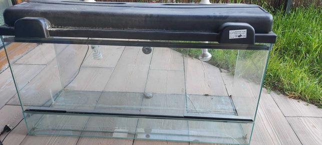 Terrarium szklane 100X40X50