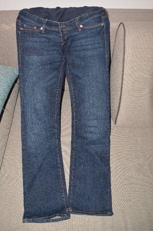 Spodnie ciążowe jeansy H&M rozm 38