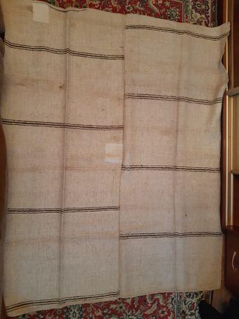 Продам старинные  конопляные рядна