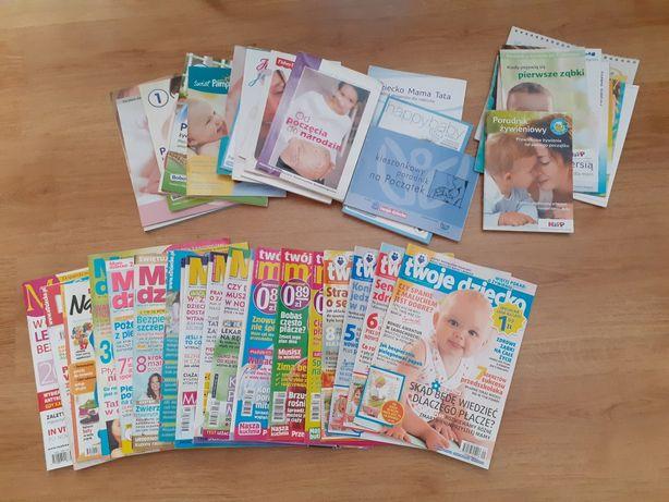 Gazety książeczki o dzieciach dla przyszłej mamy