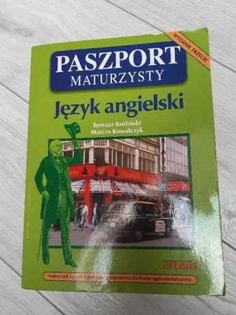 Książa Paszport maturzysty język angielski