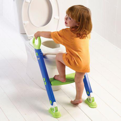 Nakładka na toaletę ze schodkami