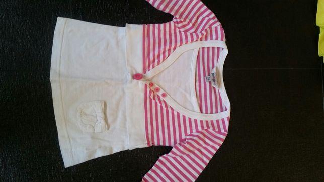 Śliczna bluzeczka tunika 110 cm