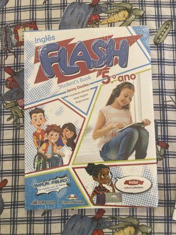 "Livro de Ingles 5 ano ""Flash"""