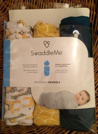 Пеленка / конверт на липучке SwaddleMe Original Swaddle Summer Infant