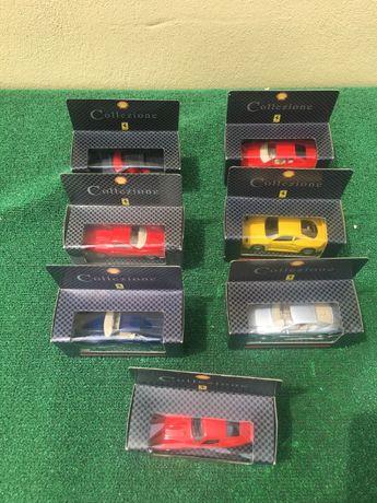 7 miniaturas da Ferrari