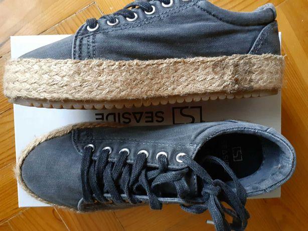 Sapatos corda Seaside - 37 - como novos