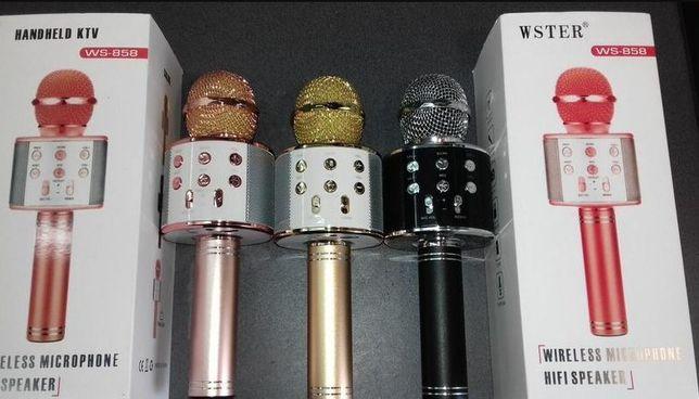 Микрофон WS 858. Домашняя система караоке, праздник дома !