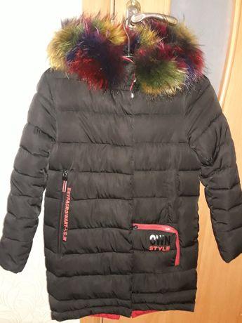 Зимова  дитяча куртка.