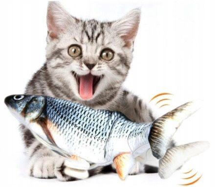 Zabawka dla kota ryba elektryczna