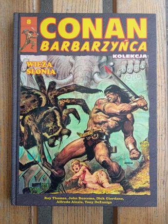"""Conan Barbarzyńca tom 8 """"Wieża Słonia"""" Hachette"""